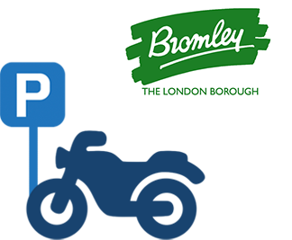 Bromley motorcycle bays