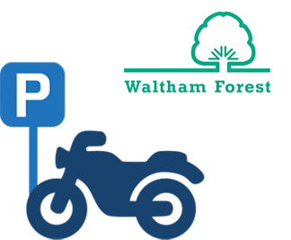 Waltham Forest motorcycle bays