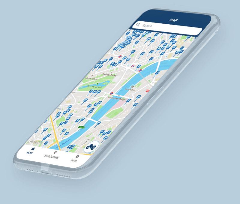 london bike bays get app